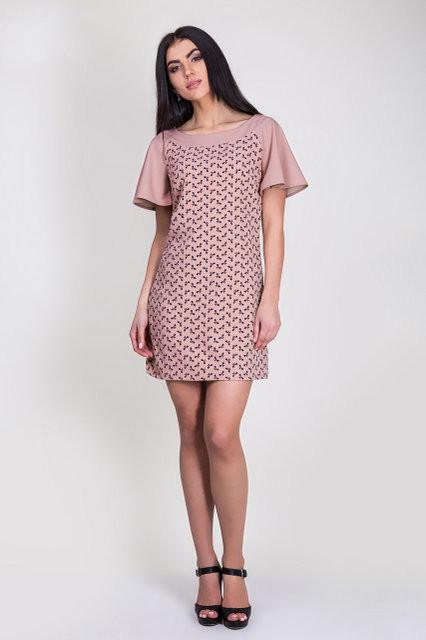 8ddf5e6a6d5 Легкое летнее платье с красивым принтом  продажа
