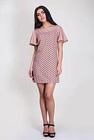 Легкое летнее платье с красивым принтом