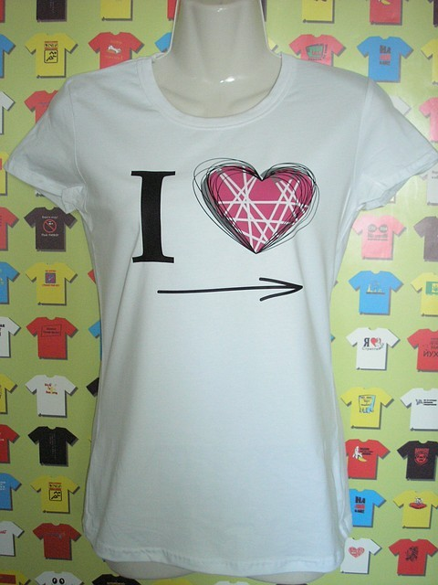 Футболка I Love (весільні футболки)