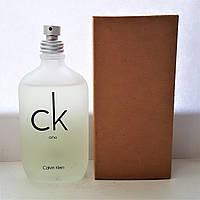 "Туалетная вода в тестере CALVIN KLEIN ""C.K One"" 100 мл унисекс"