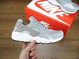 Кроссовки женские Nike Huaraсhe 30190 серо-серебристые, фото 2