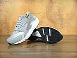 Кроссовки женские Nike Huaraсhe 30190 серо-серебристые, фото 3