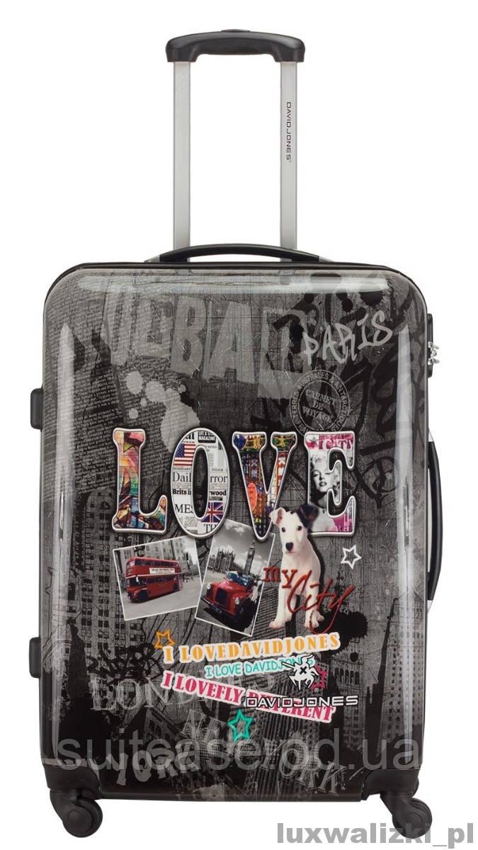 d613a6046539 Чемодан Love от David Jones средний - Интернет-магазин