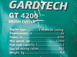Бензокоса Gardtech GT-4200 (нож+шпуля), фото 2