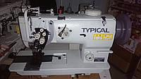 Двухигольная прямострочная швейная машина с унисоным продвижением материала TYPICAL GC 20676