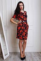 Красивое платье полубатальных размеров