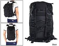 Тактический рюкзак Assault (штурмовой) 25 л Чёрный