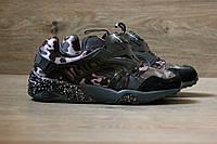 Кроссовки мужские Puma Disk Blaze-Black Camo 2125 камуфляжные