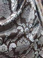 Блекаут Дамаск, цвет мокко+серый