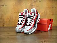 Мужские кроссовки Nike Air Max 95 Essential University Red. Топ качество! (аир макс, эир макс)