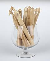 Толстые деревянные крючки для вязания, фото 1