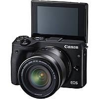 Фотоаппарат Canon EOS M3 + EF-M 15-45mm (9694B234) Black