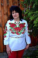 Заготовка жіночої сорочки для вишивки нитками/бісером БС-27, фото 1