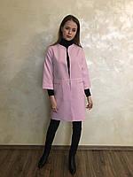 Кардиган розовый с кашемира