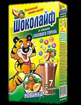 """Какао напиток """"Шоколайф""""  лесной орех"""