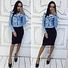 """Женская куртка- косуха """"Зара"""" в расцветках. Ма-2-0317, фото 6"""