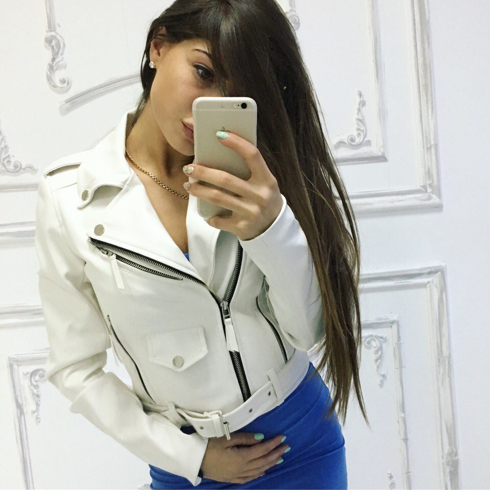 "Женская куртка- косуха ""Зара"" в расцветках. Ма-2-0317"