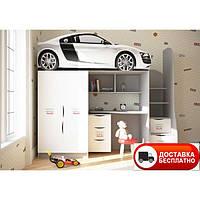 """Кровать-комната """"Audi """" серия бренд"""