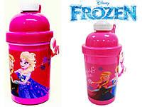 """Бутылка с трубочкой """"Frozen (Холодное сердце)"""""""