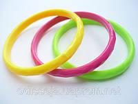 Браслеты пластиковые, разные цвета(12 шт) 8_9_1