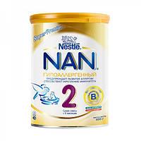 Cмесь Nestle NAN Гипоаллергенный с 6 месяцев 400 гр.
