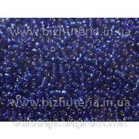 Бисер синий(100 грамм)