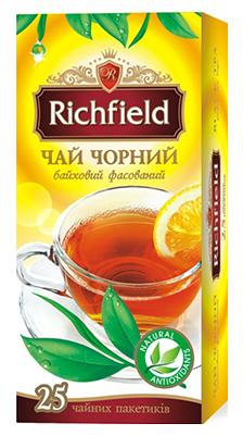 """Чай черный """"Richfield"""" 25 пакетиков"""