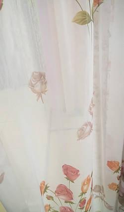 """Гардина Батист """"Кристи"""", на ленте 3 метра, фото 2"""