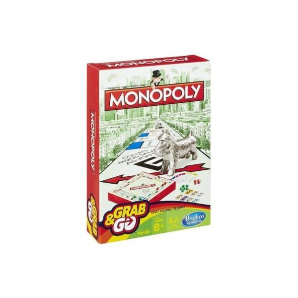 Монополия Hasbro настольная игра. Дорожный вариант