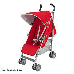 Детская прогулочная коляска-трость Maclaren Quest Cardinal/Silver