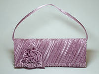 Клатч, ткань, светло-фиолетовый 31_1_31a2