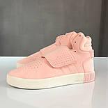 Кроссовки Adidas Tubular Invader Pink. Живое фото. Топ качество! (Реплика ААА+), фото 3