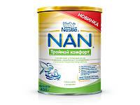 Cмесь Nestle  NAN Тройной Комфорт 800 гр.