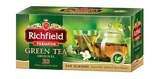 """Чай зеленый премиум """"Richfield"""" 20 пакетиков"""