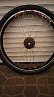 """Велосипедное колесо 26"""" в сборе заднее"""