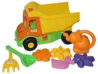 Игровой набор Wader Грузовик с набором для песка и лейкой (39206)