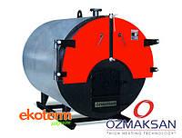 Водогрейный промышленный твердотопливный котел с ручной подачей ÖZMAKSAN (типа ОКК)