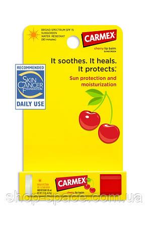 Бальзам для губ Carmex Cherry (вишня), 4,25 г