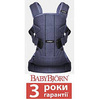 Рюкзак BABYBJORN Carrier ONE Denim, фото 1