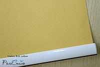 Рулонные шторы ткань блэкаут Umbra yellow желтый цвет