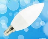 Светодиодная лампа Biom BT-570 C37 6W E14 4500К матовая