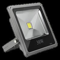 Прожектор LED Bellson 30W 4000K SLIM с датчиком движения