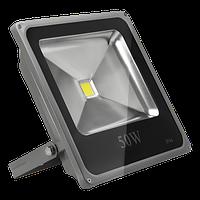 Прожектор LED Bellson 50W 6000K SLIM с датчиком движения