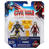 Игровой набор Железный человек и Скарлет Ведьма (Iron Man and Scarlet Witcht), Marvei. disney