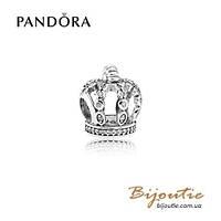 Pandora Шарм СКАЗОЧНАЯ КОРОНА 792058CZ серебро 925 Пандора оригинал