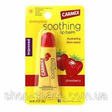 Бальзам для губ Carmex Strawberry (полуниця)