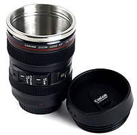 Термокружка в виде объектива Canon 24-105L, фото 1