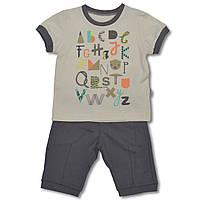 Летний костюм для мальчиков футболка и шорты, 86, 92