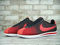 Кроссовки мужские Nike Cortez 2015 30185 красно-черные