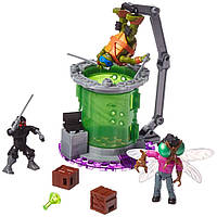 "Конструктор Черепашки Ниндзя ""Лаборатория мутаций"" (Teenage Mutant Ninja Turtles Baxter Mutation Lab), Mega bloks"